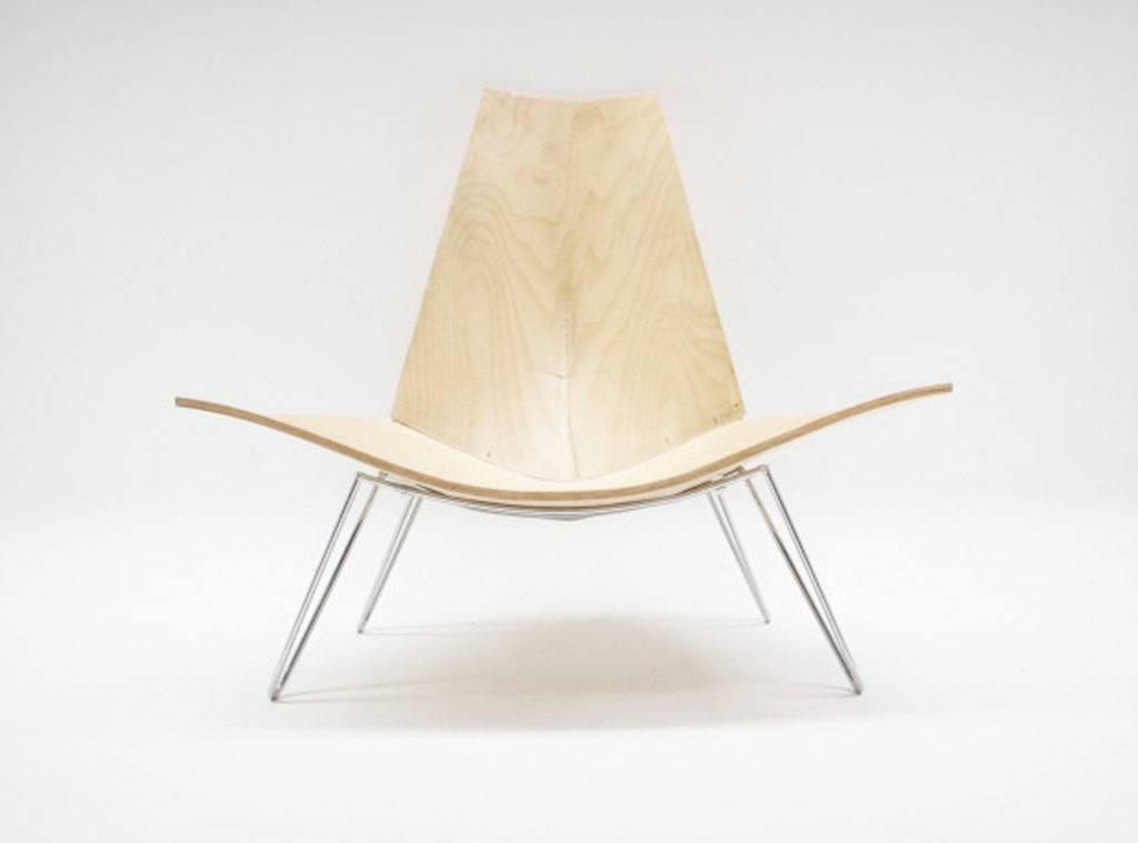 3D impressie van ontwerp van een stoel